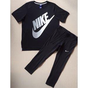 Nike Bundle - Short Sleeve Tee, Tights